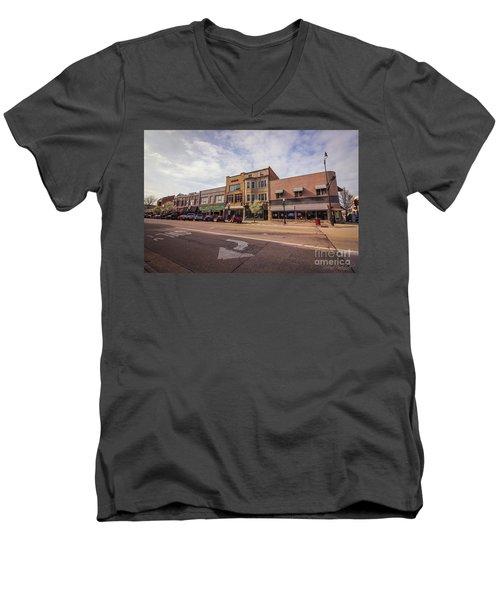 North Grand  Men's V-Neck T-Shirt