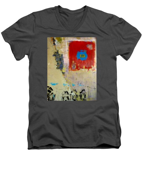 North Men's V-Neck T-Shirt