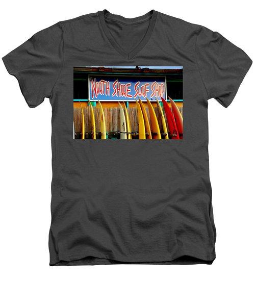 North Shore Surf Shop 2 Men's V-Neck T-Shirt