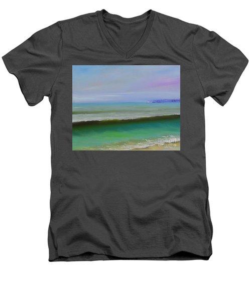 North To Dana Point Men's V-Neck T-Shirt