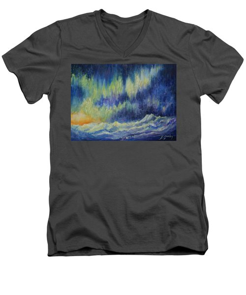 Northern Experience Men's V-Neck T-Shirt