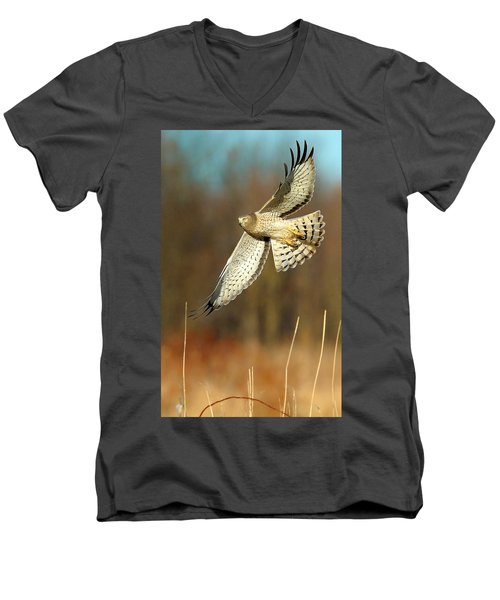 Northern Harrier Banking Men's V-Neck T-Shirt