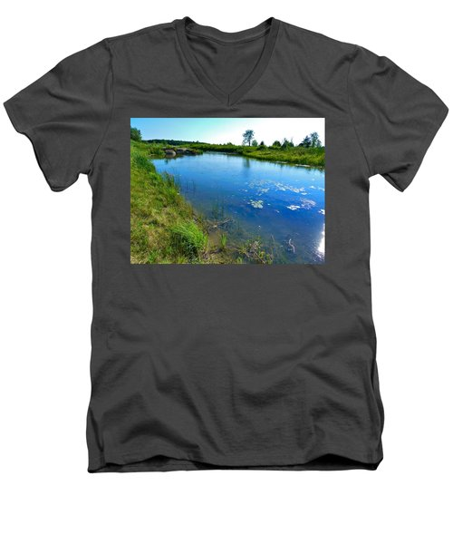Northern Ontario 3 Men's V-Neck T-Shirt