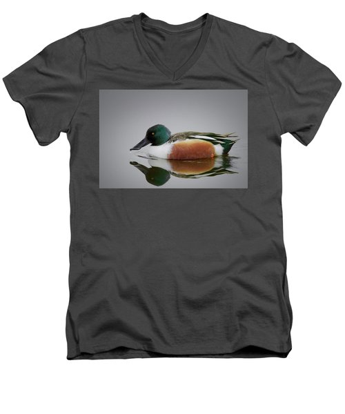 Northern Shoveler Men's V-Neck T-Shirt