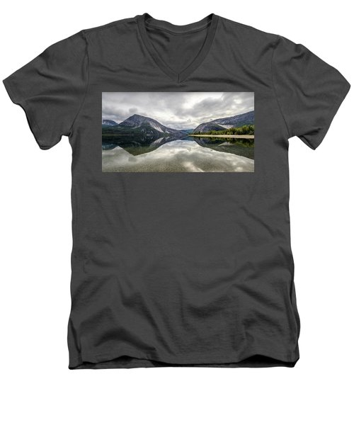 Norway I Men's V-Neck T-Shirt by Thomas M Pikolin