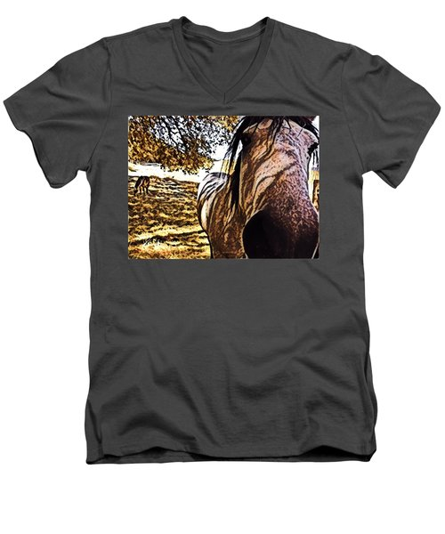 Nosey Belle Men's V-Neck T-Shirt