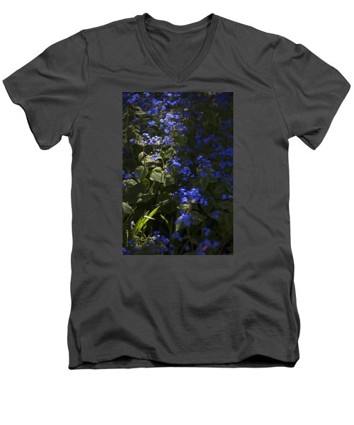 Not A Chance Of Forgetting Men's V-Neck T-Shirt by Morris  McClung