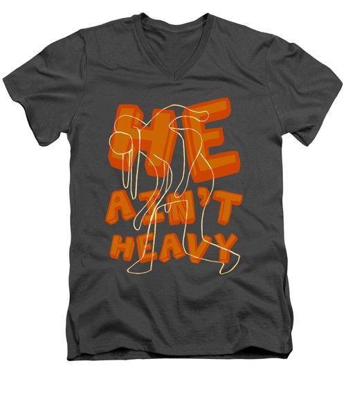 Not Heavy Men's V-Neck T-Shirt