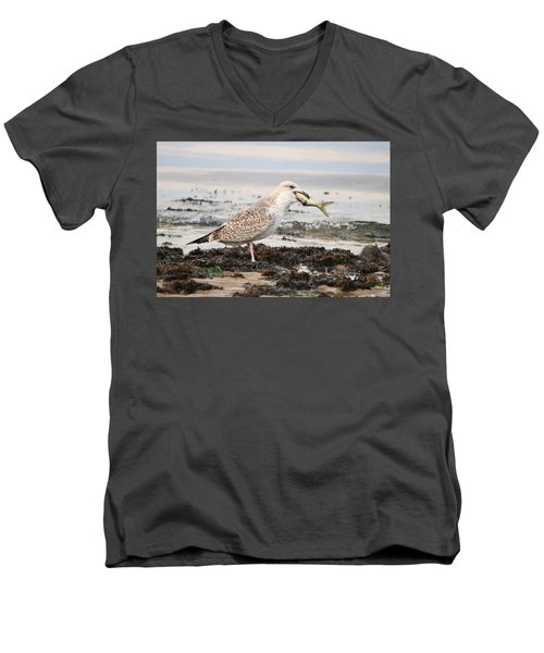 Not Sharing My Catch Men's V-Neck T-Shirt