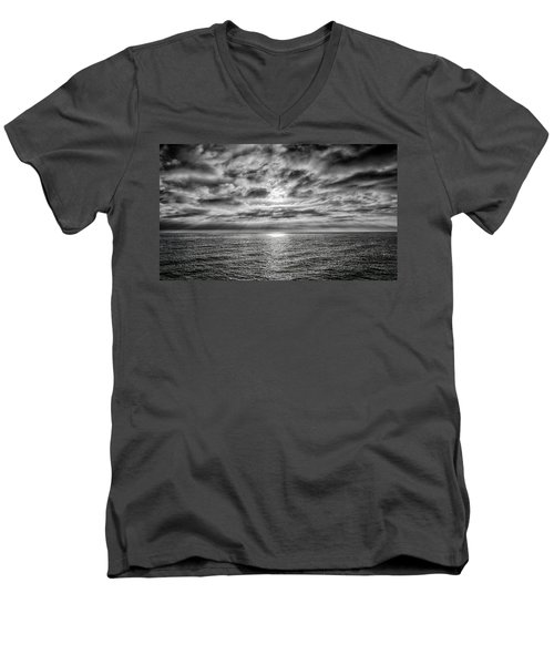 Nothing Something Or All Men's V-Neck T-Shirt by Joseph Hollingsworth