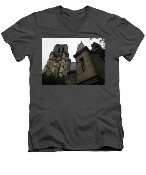 Notre Dame Paris Southwest Men's V-Neck T-Shirt