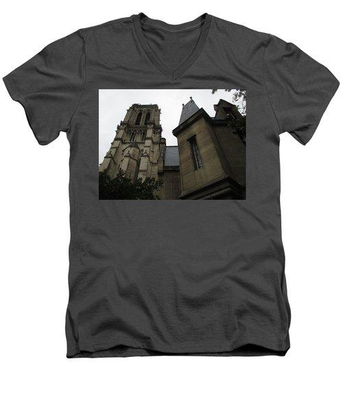 Notre Dame Paris Southwest Men's V-Neck T-Shirt