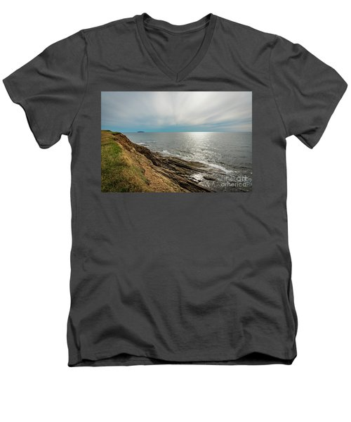 Nova Scotia Men's V-Neck T-Shirt