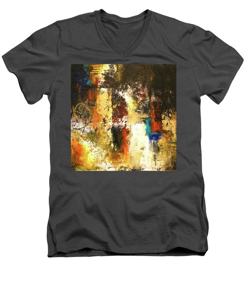 November Evening 2 Men's V-Neck T-Shirt