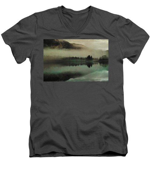 November Lake Men's V-Neck T-Shirt