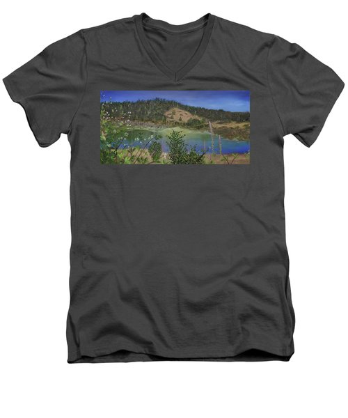 Noyo Serenity Men's V-Neck T-Shirt