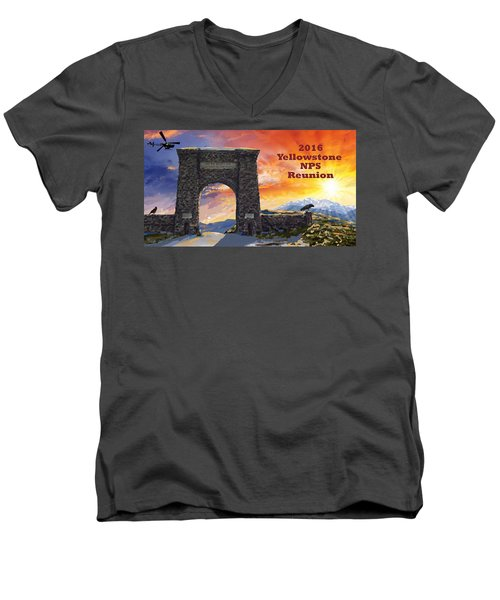 Nps Reunion Men's V-Neck T-Shirt