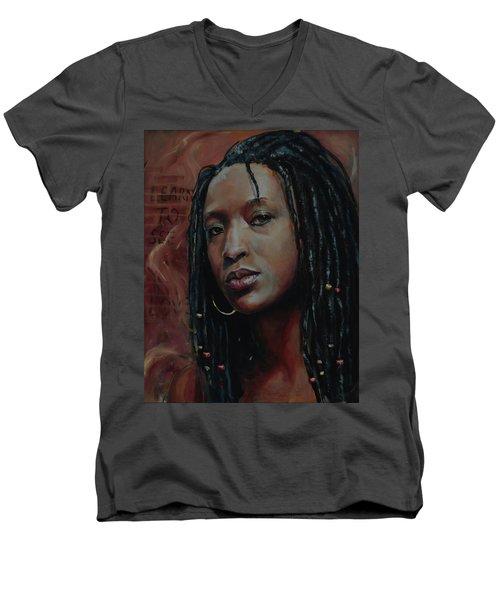 Nubian Dream 2.1 Men's V-Neck T-Shirt