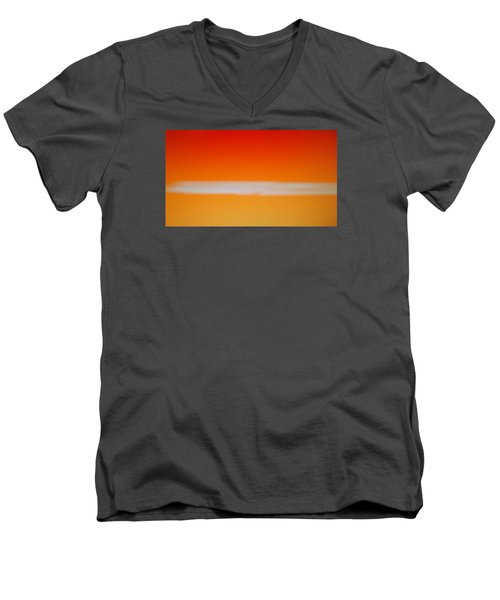 Nuclear Sunrise Men's V-Neck T-Shirt