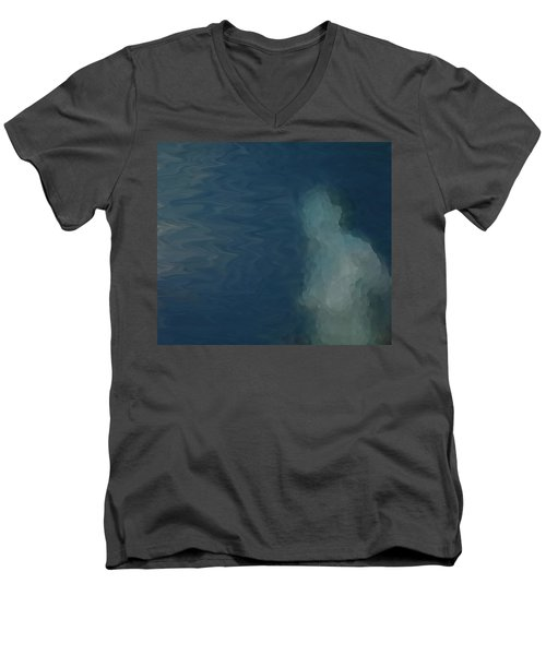 Nude Impression 18-3 Men's V-Neck T-Shirt