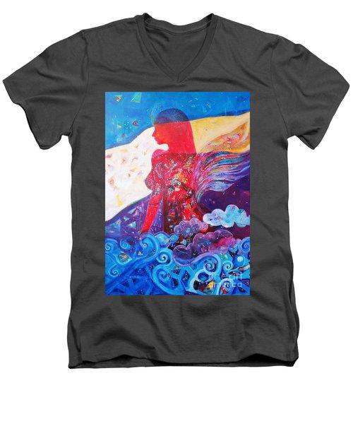 Nude Inner Dream Men's V-Neck T-Shirt