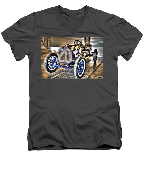 Number 20 Men's V-Neck T-Shirt by Josh Williams