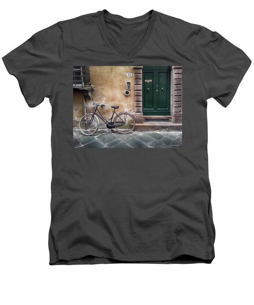 Number 49 Men's V-Neck T-Shirt