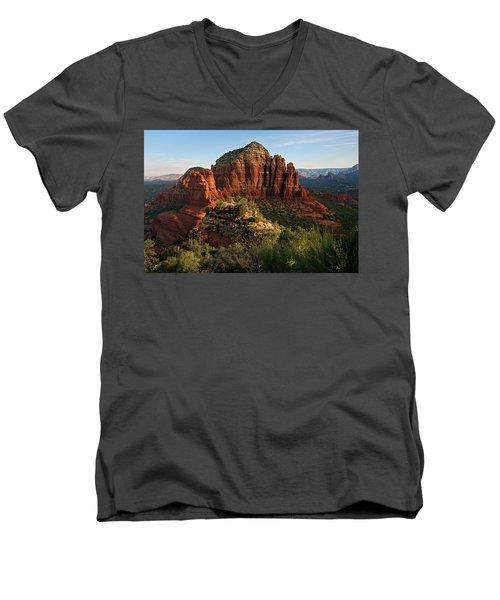 Nuns 06-033 Men's V-Neck T-Shirt by Scott McAllister