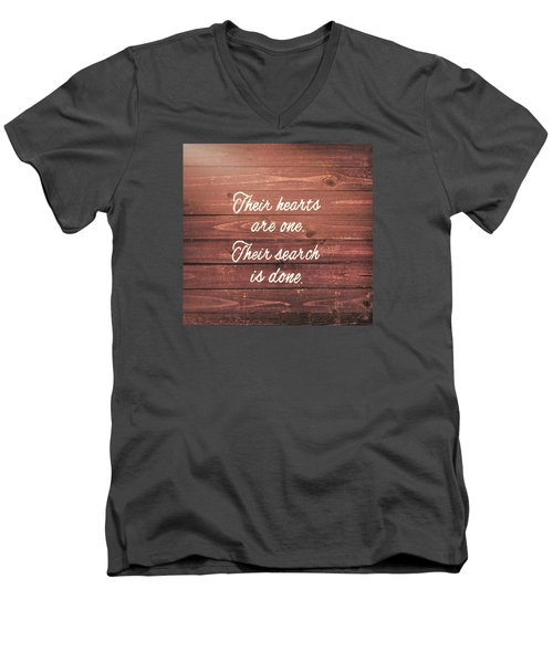 Nuptial Note Men's V-Neck T-Shirt