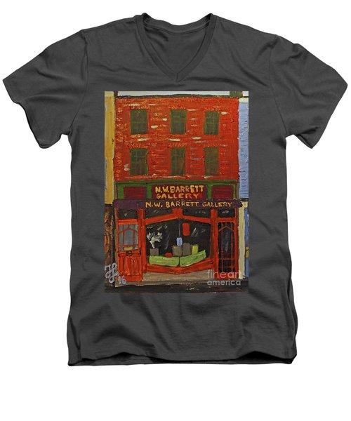 N.w.barrett Gallery Men's V-Neck T-Shirt