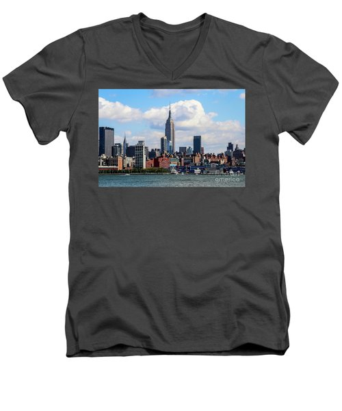 Nyc Westside Men's V-Neck T-Shirt