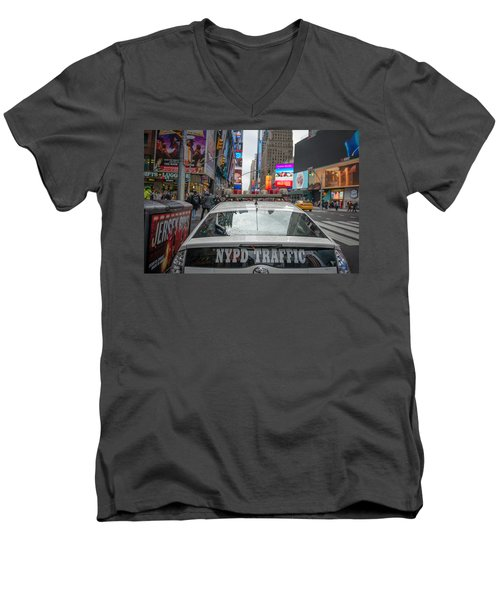 Nypd Men's V-Neck T-Shirt