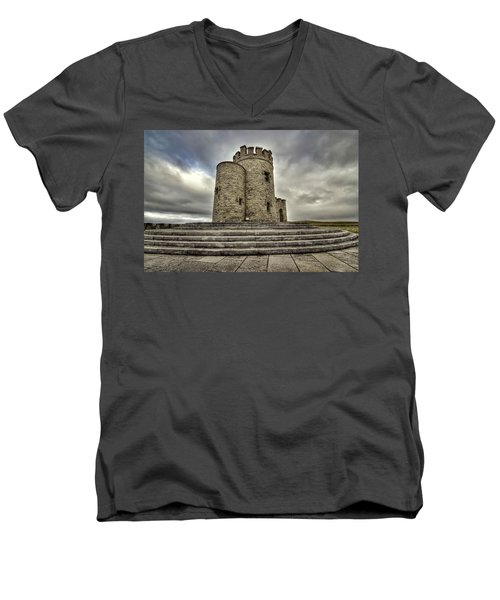 O Brien's Tower Men's V-Neck T-Shirt