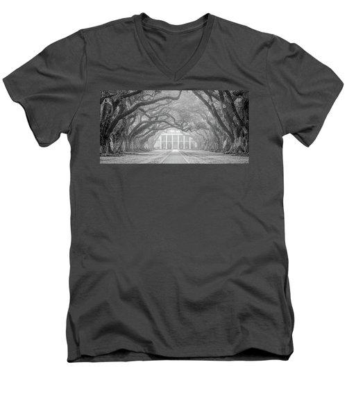 Oak Alley Fog Men's V-Neck T-Shirt