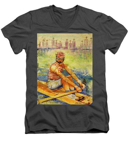 Oarsman Men's V-Neck T-Shirt