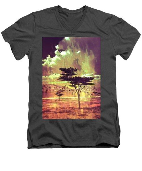 Oasis Men's V-Neck T-Shirt
