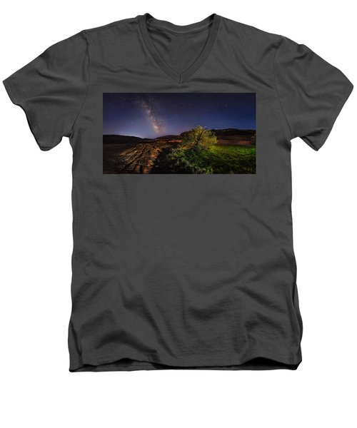 Oasis Milky Way Men's V-Neck T-Shirt