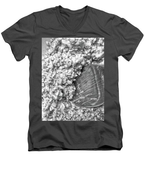 Men's V-Neck T-Shirt featuring the photograph Oatmeal by Robert Knight