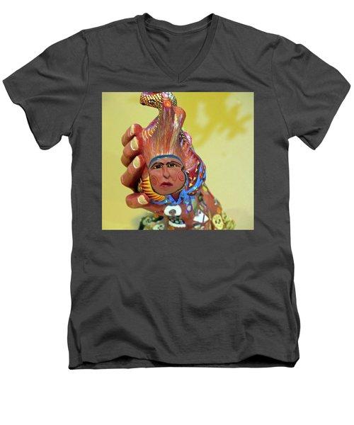 @oaxaca@mexico Men's V-Neck T-Shirt