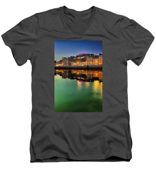Oban By Night Men's V-Neck T-Shirt