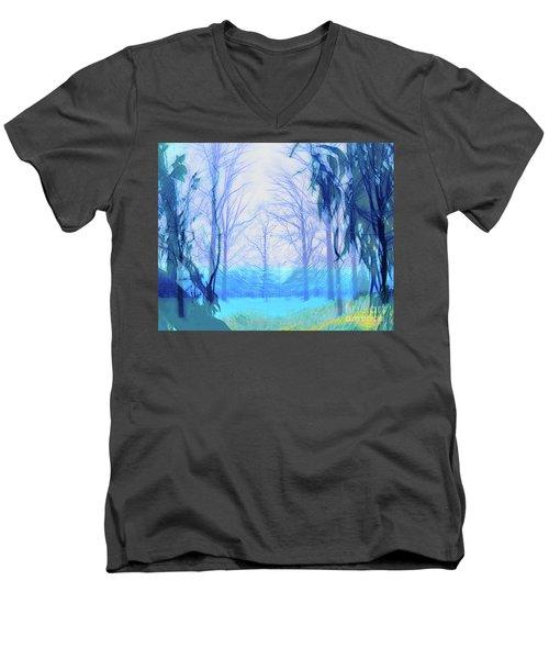 Oberlin Pacific Transition Men's V-Neck T-Shirt