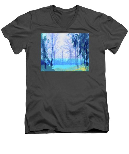 Oberlin Pacific Transition Men's V-Neck T-Shirt