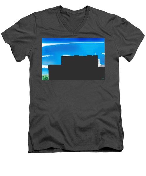 Obstructed View Men's V-Neck T-Shirt