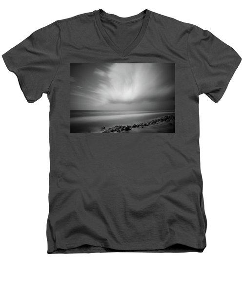 Ocean And Clouds Men's V-Neck T-Shirt