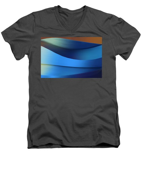 Men's V-Neck T-Shirt featuring the photograph Ocean Breeze by Paul Wear