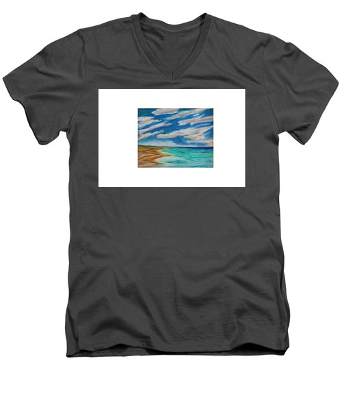 Ocean Clouds Men's V-Neck T-Shirt