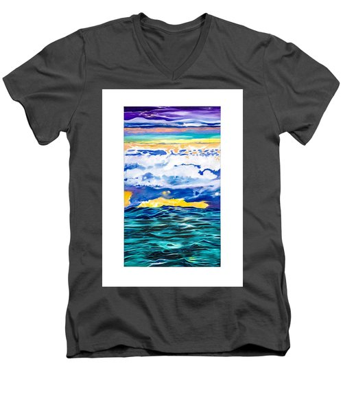 Ocean Men's V-Neck T-Shirt