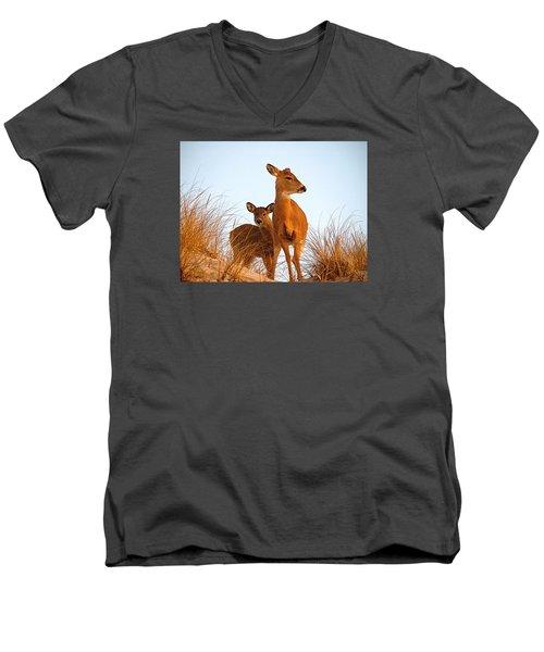 Ocean Deer Men's V-Neck T-Shirt