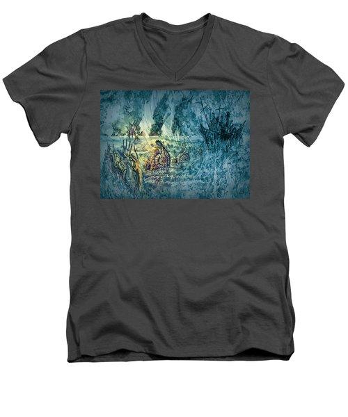Ocean Floor Men's V-Neck T-Shirt