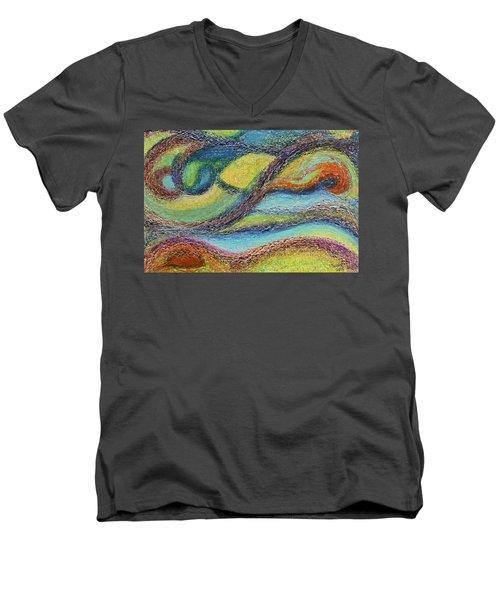 Ocean Flow Men's V-Neck T-Shirt